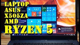 ASUS X505ZA AMD RYZEN 5 UNBOXING & REVIEW POLOS | LAPTOP BERKUALITAS HARGA TERJANGKAU