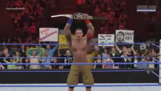 WWE No Mercy 2016 - John Cena VS AJ Styles VS Dean Ambrose (WWE World Heavyweight Championship) HD