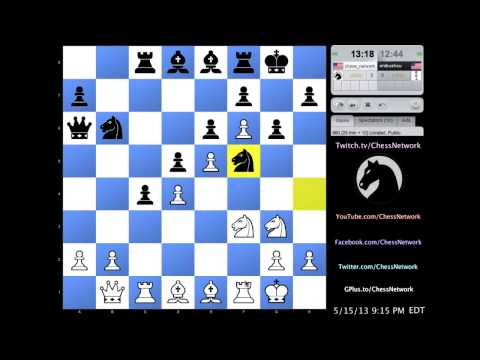 Simultaneous Chess Exhibition w/ Live Commentary #20: 5 Opponents