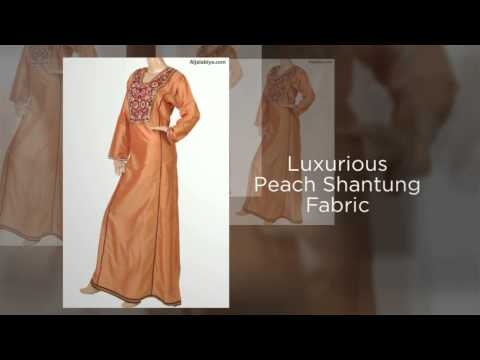 """Peach and Sweet"" Kaftan Dress & Islamic clothing for women"