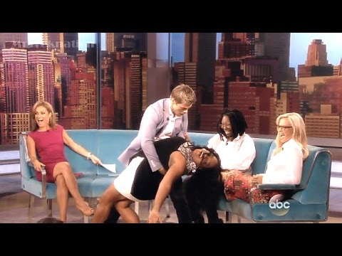 Derek Hough - New Book & Farewell Dance W/ Sherri Shepherd - The View