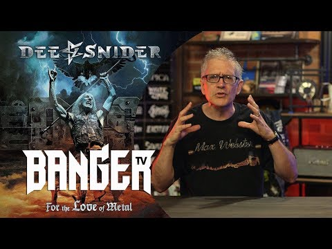 DEE SNIDER For the Love of Metal Album Review   Overkill Reviews