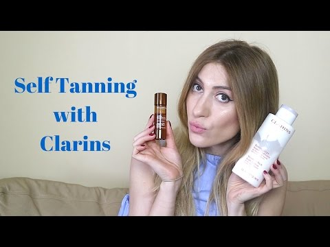 Self Tanning with Clarins