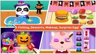 Baby Panda's Supermarket-Halloween Party Shopping - Join The Fun Halloween Party Shopping Kids Games