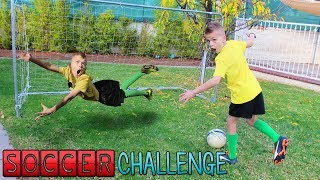 Twins ULTIMATE Soccer Challenge!!