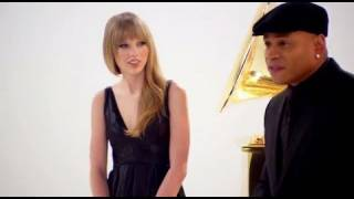 Taylor Swift Beat Boxing in Grammy Promo!