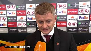 """We needed a performance!"" Solskjaer shares his view on qualifying for Europa League knockout rounds"
