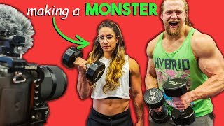 CREATING A FITNESS YOUTUBER *FROM SCRATCH*