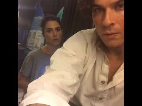 Ian Somerhalder and Nikki Reed Facebook New Video