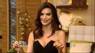 EMILY RATAJKOWSKI - 23 - FIRST NATIONAL NETWORK TV FULL INTERVIEW - 10-3-14 - PART 1 of 2