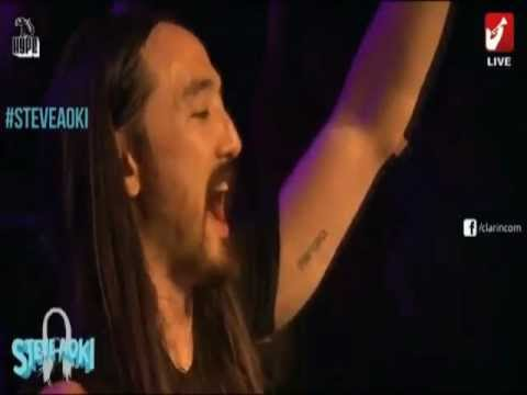 Steve Aoki - No Beef - Live In Argentina 2013 video