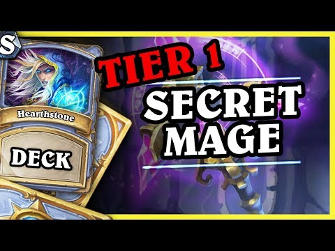 Tier 1 SECRET MAGE - Hearthstone Deck Std (K&C)