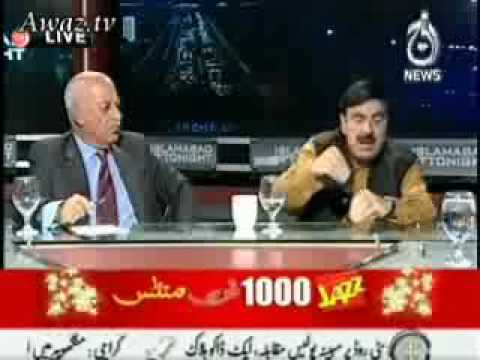 "Sheikh Rasheed vs Kamran Shafi ""Fight"""