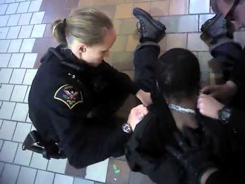 Janesville police footage: Arrest of Reginald Cole