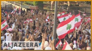 Lebanon's protests gain momentum on third day