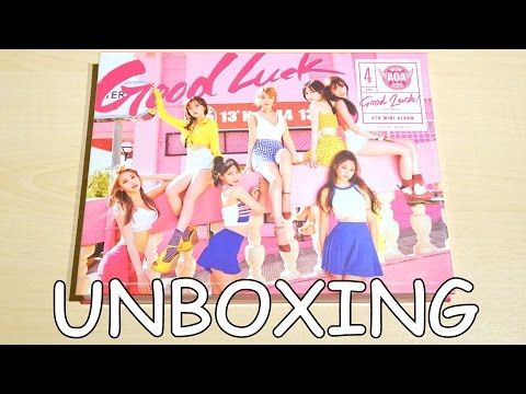 Unboxing - AOA (에이오에이) GOOD LUCK - 4th Mini Album (WEEKEND ver)