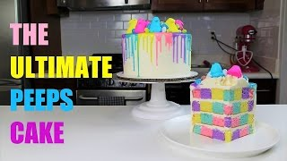 The Ultimate Peeps Cake | CHELSWEETS