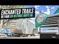 Enchanted Trails RV Park on Route 66 🚐💨 Full Time RV Living and Vintage Camper Tours