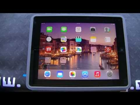 iPad 4 running iOS 7 Beta 6