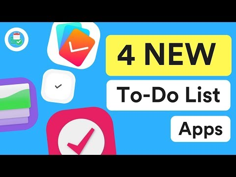 4 *NEW* To-Do List Apps To Try ✅