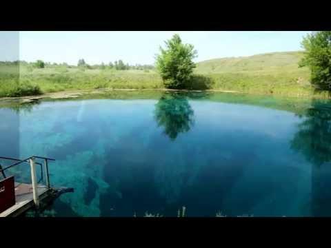 Голубое озеро, Самарская область.