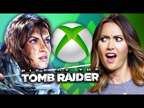 Tomb Raider's BIG Mistake. Seriously, Xbox?! (Nerdist News w/ Jessica Chobot)