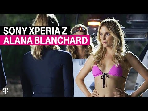 T-mobile | Alana Blanchard Hangs Ten With The Sony Xperia Z video