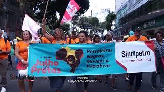Sindipetro Bahia na Marcha da Mulher Negra em Salvador