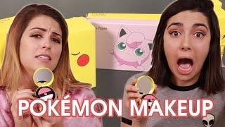 We Tried Pokémon Makeup • Saf & Candace