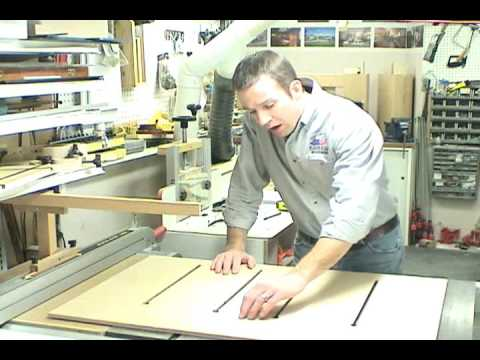 Part 2 - The Super Sled - build the tablesaw mitering and crosscut sled
