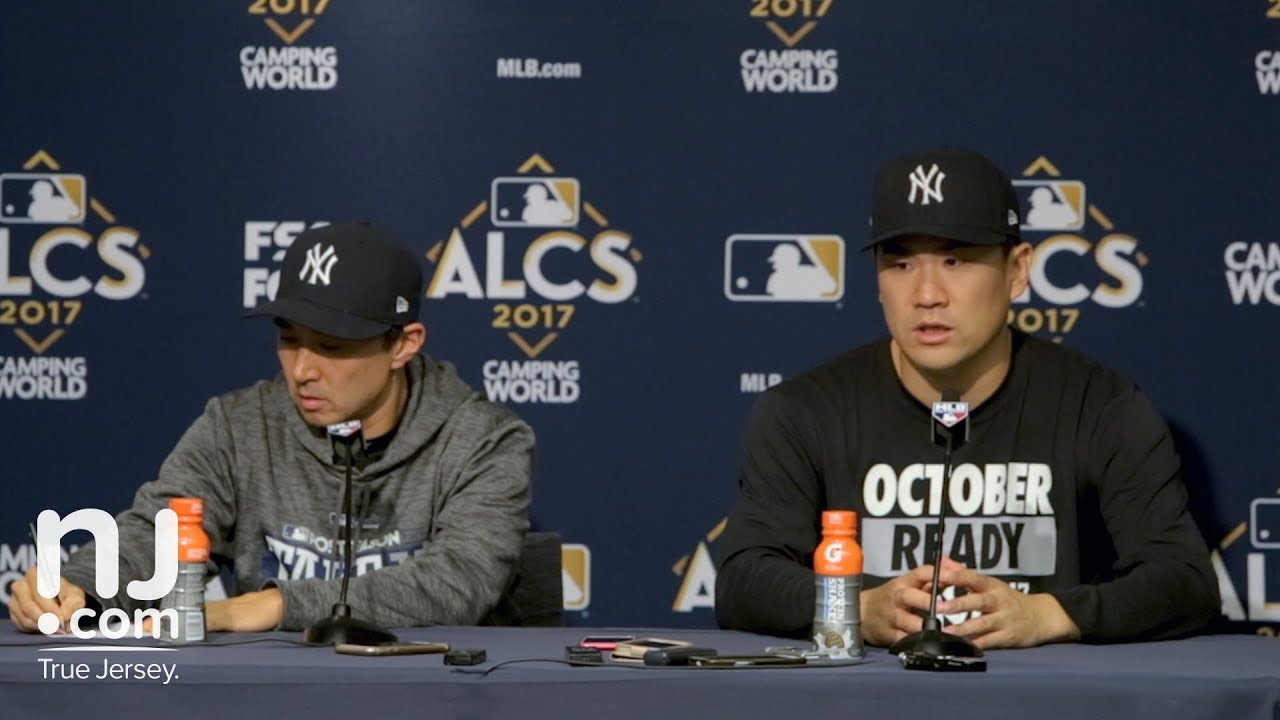 Yankees' Masahiro Tanaka on stepping up in game 5 of the ALCS