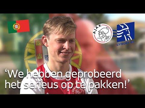 Frenkie de Jong: 'Ja, toen was de scheids opeens weg!'