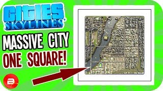 ONE SQUARE City! NO ESCAPE!! (Cities: Skylines ONE Tile Challenge)