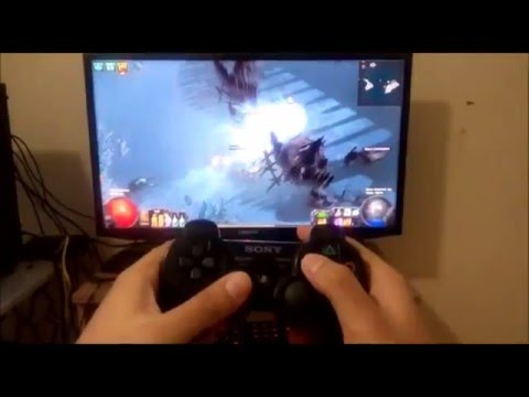 Playing Path of Exile with PS3 Controller