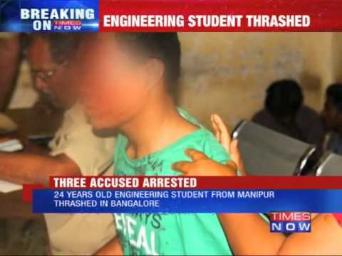 Manipur student attacked in Bangalore
