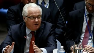 Russian ambassador to U.N. dies in New York