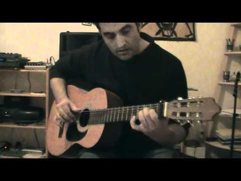 Une façon d'accompagner Les yeux ouverts à la guitare sèche ( cours de guitare )