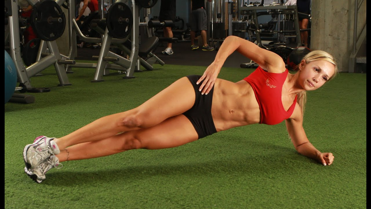 Six Pack Women Before And After Six Pack Abs Workout For Women