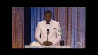 "Mahershala Ali Gives Emotional SAG Speech: ""When You Persecute People, They Fold Into Themselves"""