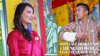 Sonam Choki & Chencho Dorj    Bhutanese    K5 Live Event New York    2018 HD