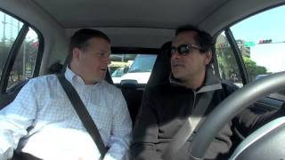 Driving with car2go CEO Nicholas Cole