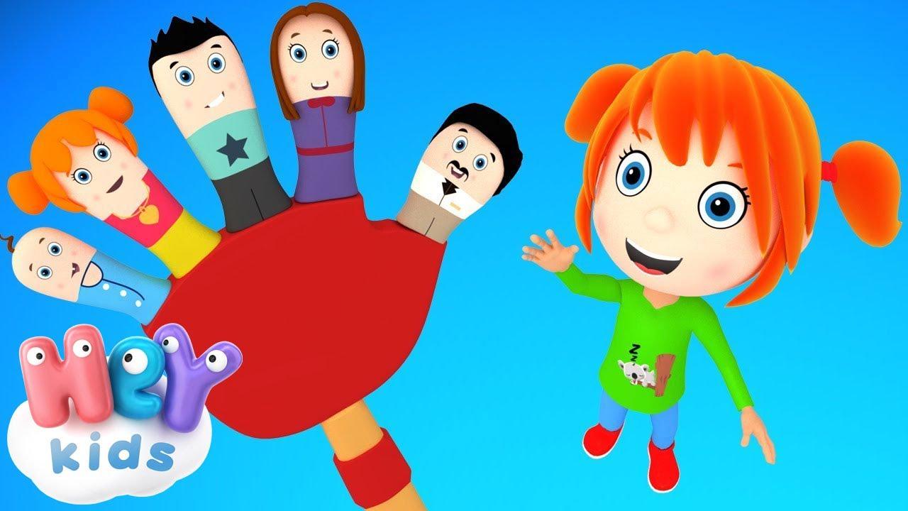 Семейство Пальцев - Развивающие мультики - Песни для Детей