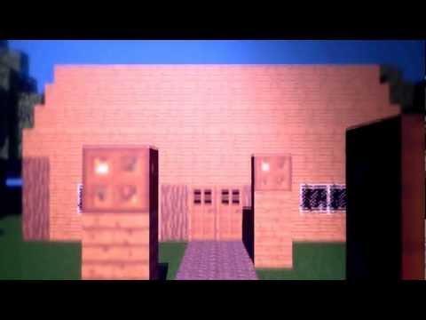 Minecraft Like Intro Cinema 4D.