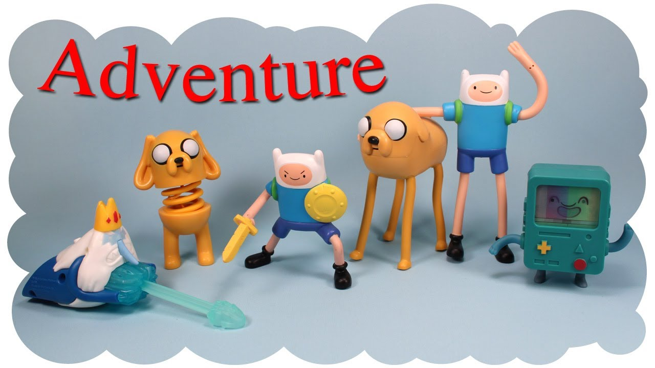 McDonald's Adventure Time Happy Meal Six Collection 2014 ...