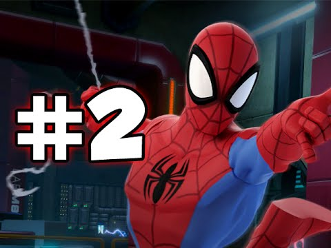 Disney Infinity 2 Marvel Superheroes - Ultimate Spider-man Playset - Part 2 video