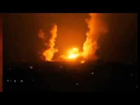 Gaza AIR strikes 'kill five' as rockets hit Israel   BREAKING NEWS   09 AUG 2014 HQ