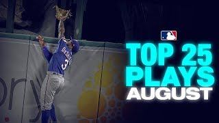 Top 25 MLB Plays of the Month - August