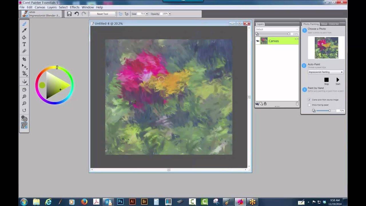 Quest ce que la rsolution, la taille et la dimension d Reduire taille photo paint