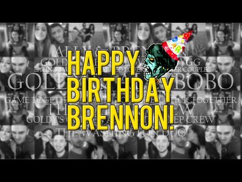 Happy Birthday Bren video