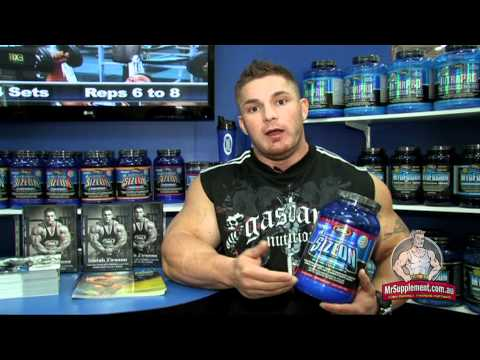 Gaspari Size On Max Performance - Flex Lewis
